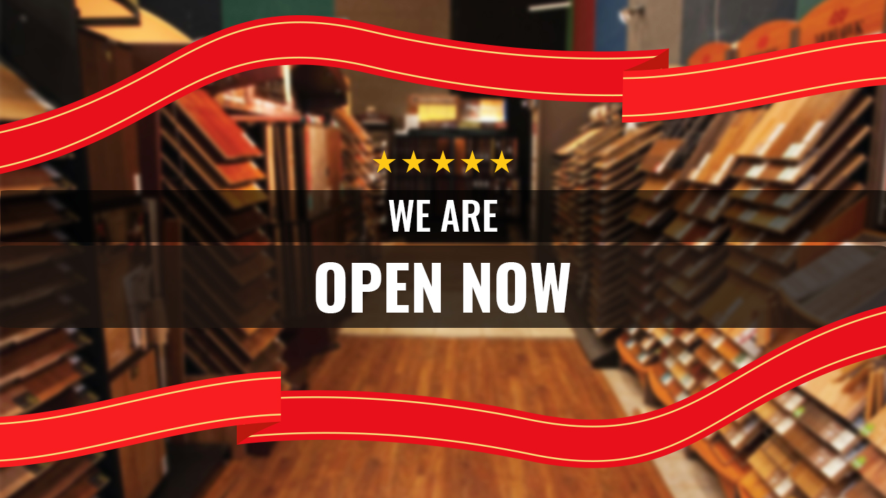 Our Store is Open