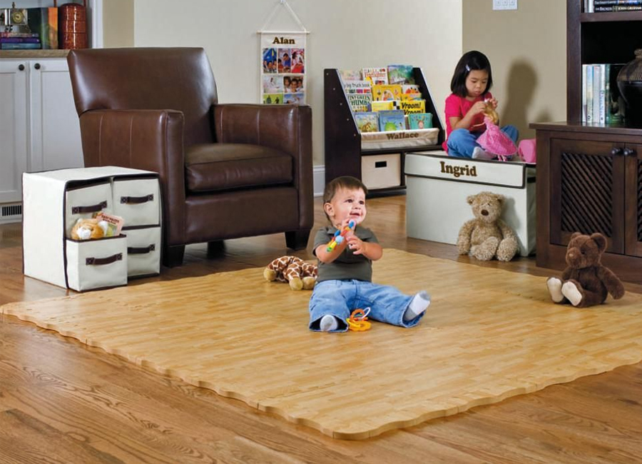 Different Flooring Solutions for Child Safety in House