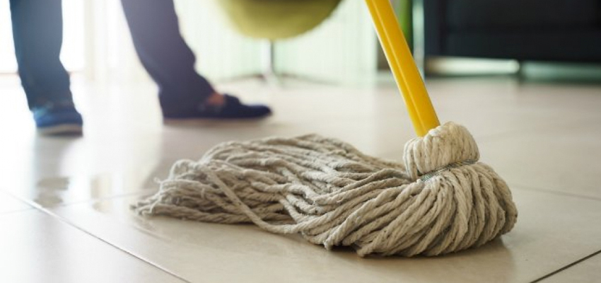 Hardwood Floor Maintenance Tips | Wet Mop to Remove Scratches