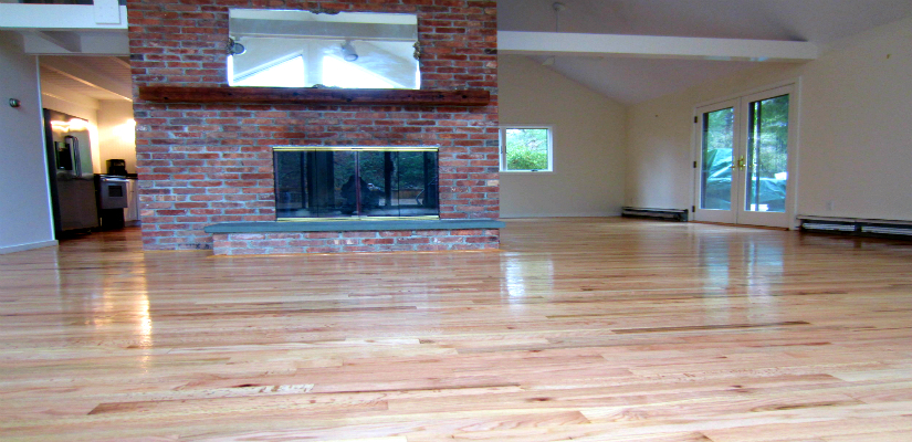Oil-based Polyurethane Finished Hardwood Floor