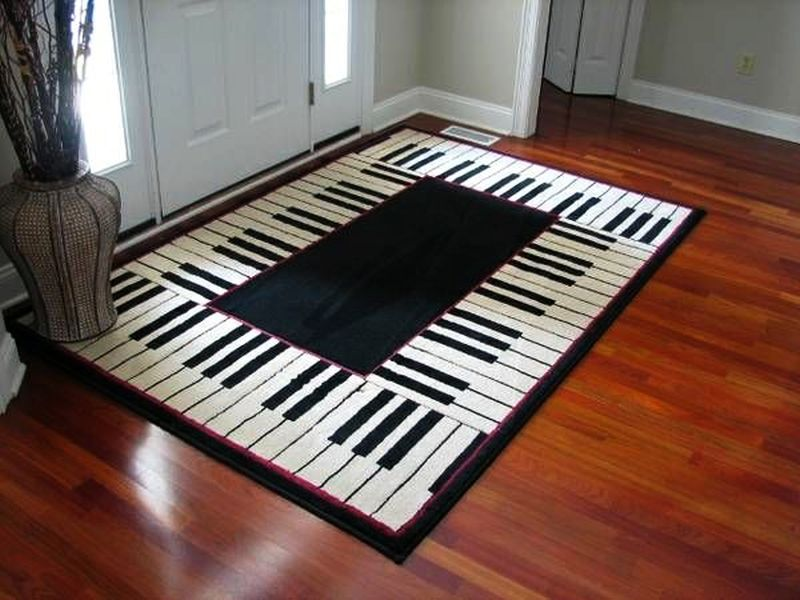 Musical Cushions on Hardwood Flooring