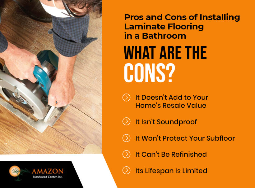Cons of Installing Laminate Flooring in Bathroom