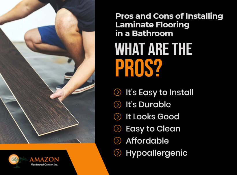 Pros of Installing Laminate Flooring in Bathroom