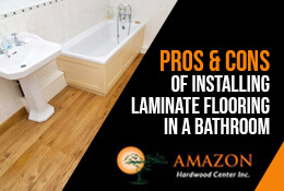 Pros and Cons of Installing Laminate Flooring in a Bathroom